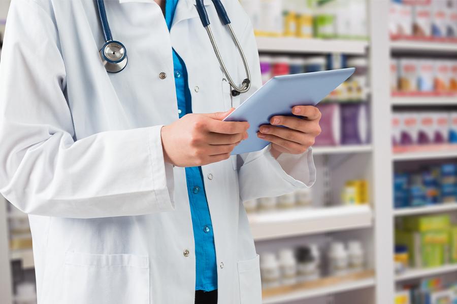 Pharmacist in a specialty pharmacy